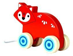 Applesauce Wooden Pull Toys Infant Development Educational B