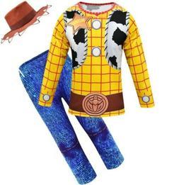 XS 3-4 Woody Toy Story Disney Cowboy Dress Halloween Toddler