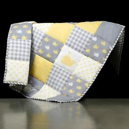New Baby Quilt Handmade in Nursery Toddler bed Soft Baby Bla