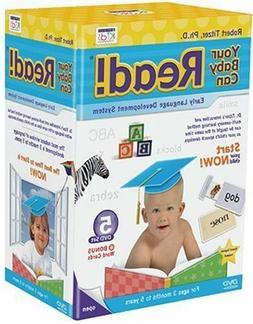 YOUR BABY CAN READ 5 DVD SET Early Language Development Syst